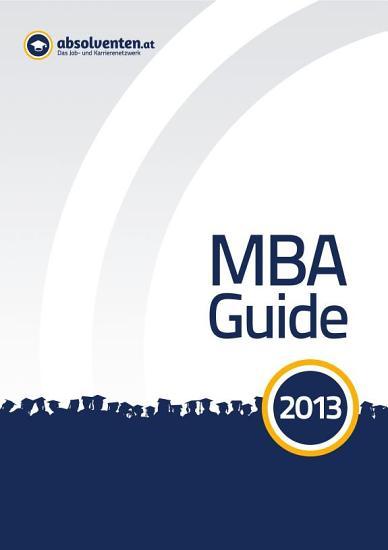 MBA Guide 2013 PDF