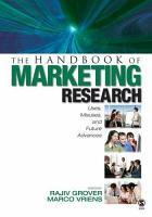 The Handbook of Marketing Research PDF