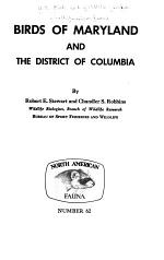 Birds of Maryland and the District of Columbia