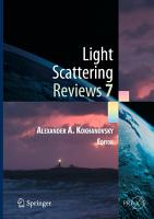 Light Scattering Reviews 7 PDF