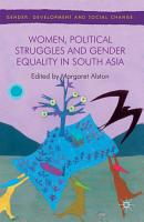 Women  Political Struggles and Gender Equality in South Asia PDF