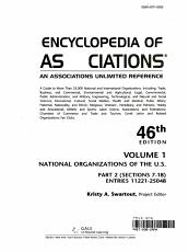 Encyclopedia of Associations V1 National Org 46 Pt2 PDF