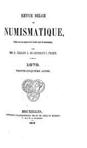 Revue belge de numismatique et de sigillographie: Volume35