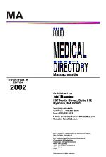 Folio's Medical Directory, Massachusetts