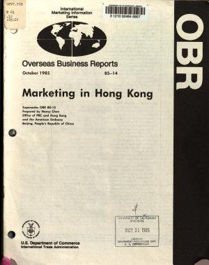 Marketing in Hong Kong PDF
