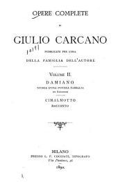 Opere complete di Giulio Carcano: Volume 2