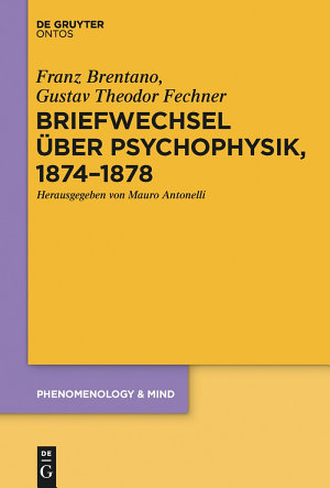 Briefwechsel   ber Psychophysik  1874   1878 PDF