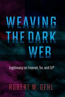 Weaving the Dark Web PDF