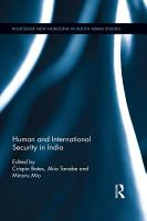 Human and International Security in India PDF