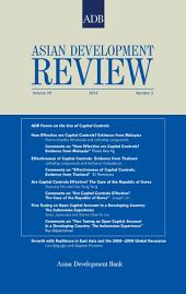 Asian Development Review: Volume 29, Number 2, 2012