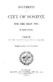 Documents of the City of Boston: Volume 3