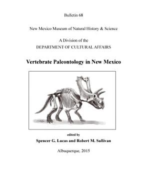 Vertebrate Paleontology in New Mexico PDF