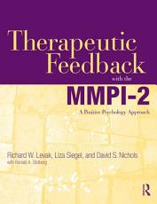 Therapeutic Feedback with the MMPI 2 PDF