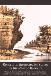 Reports on the Geological Survey of the State of Missouri: 1855-1871