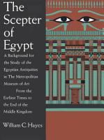 The Scepter of Egypt PDF