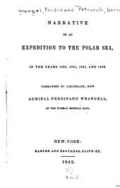 Narrative of an Expedition to the Polar Sea in the Years 1820, 1821, 1822 and 1823