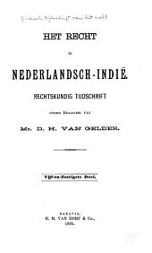 Indisch tijdschrift van het recht: orgaan der Nederlandsch-Indische juristen-vereeniging, Deel 65
