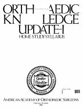Orthopaedic Knowledge Update I PDF