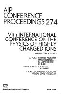 VIth International Conference on the Physics of Highly Charged Ions
