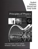 Student Solutions Manual With Study Guide For Serway Jewett S Principles Of Physics A Calculus Based Text