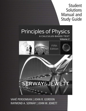 Student Solutions Manual with Study Guide for Serway Jewett s Principles of Physics  A Calculus Based Text  Volume 2 PDF