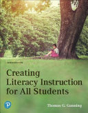 Creating Literacy Instruction for All Students   Mylab Education With Pearson Etext Access Card