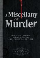 A Miscellany of Murder PDF