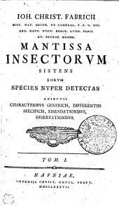 Mantissa insectorum