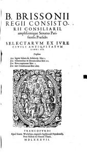Selectarum ex iure civili antiquitatum libri IV