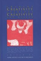 Eminent Creativity  Everyday Creativity  and Health PDF
