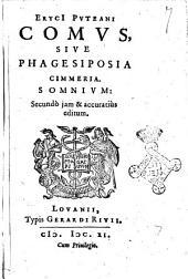 Comus, sive Phagesiposia Cimmeria. Somnium