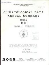 Climatological data: Iowa, 第 94 卷,第 13 期
