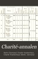 Charit   annalen PDF
