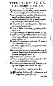 Francisci Patricii ... De Regno et Regis institutione libri IX: historiarum ac sententiarum variarum referti]