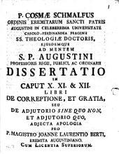 De correptione et gratia S. Augustini