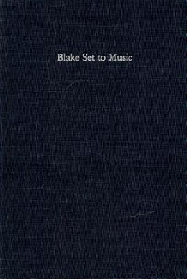 Blake Set to Music PDF