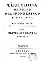 De bello Peloponnesiaco libri octo: cum indice rerum, Τόμος 2