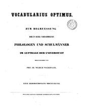 Vocabularius optimus