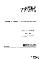Journal of ECONOMICS   BUSINESS PDF
