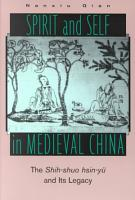 Spirit and Self in Medieval China PDF