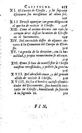 Los IV libros de la Imitacion de Christo, y menosprecio del mundo