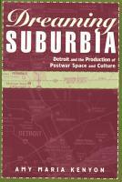 Dreaming Suburbia PDF
