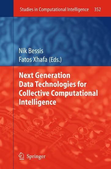 Next Generation Data Technologies for Collective Computational Intelligence PDF