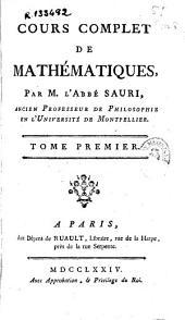 Cours complet de mathématiques