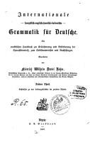 Internationale franz  sisch englisch spanisch italienische Grammatik f  r Deutsche PDF