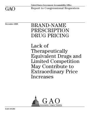 Brand New Prescription Drug Pricing PDF