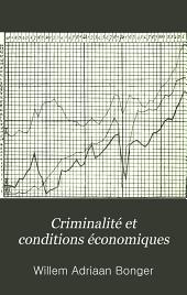 Criminalité et conditions économiques