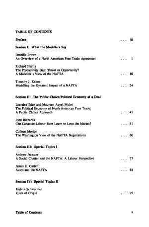 North American Free Trade Area PDF