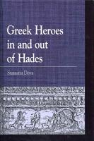 Greek Heroes in and Out of Hades PDF