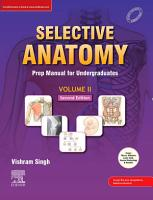 Selective Anatomy Vol 2  2nd Edition E book PDF